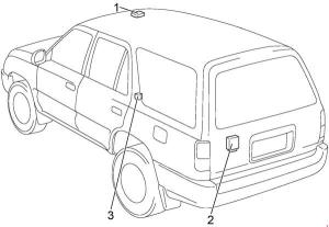 19962002 Toyota 4Runner Fuse Box Diagram » Fuse Diagram