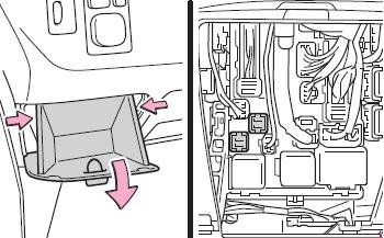 2008–2014 Toyota Urban Cruiser / Scion xD Fuse Box Diagram