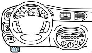 '97-'03 Ford Escort Fuse Diagram