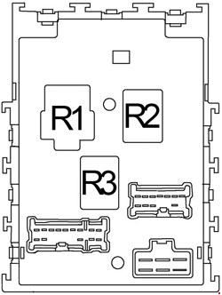 2000-2006 Nissan Sentra Fuse Box Diagram » Fuse Diagram