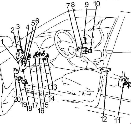95 240sx fuse box diagram
