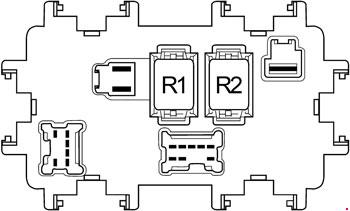 '04-'14 Nissan Frontier Fuse Box Diagram