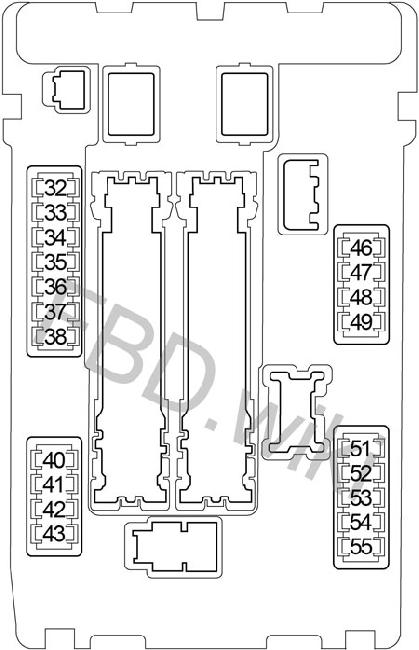 2007-2012 Nissan Altima Fuse Box Diagram » Fuse Diagram