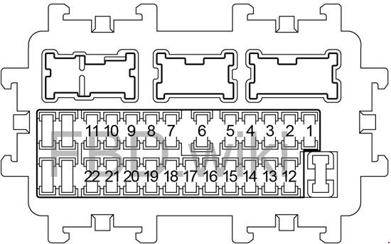 2013 vw passat fuse box diagram under hood