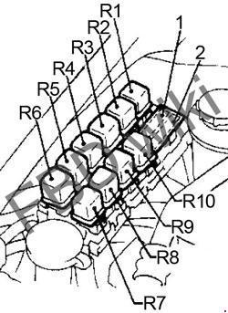 1993-1997 Nissan Altima Fuse Box Diagram » Fuse Diagram
