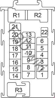 Nissan Juke Fuse Box Diagram » Fuse Diagram