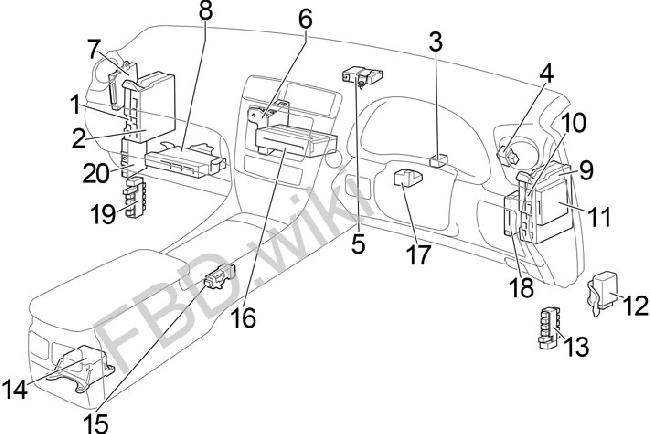 [DIAGRAM] 2015 Lexus Nx Fuse Diagram FULL Version HD