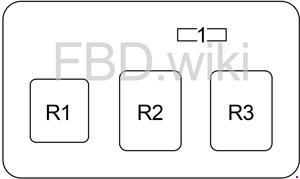1999-2005 Toyota Celica Fuse Box Diagram » Fuse Diagram