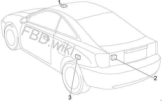 Схема предохранителей и реле Toyota Celica (1999-2006