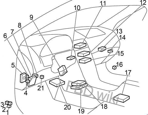 2004 Nissan Maxima Fuse Box Diagram / Diagram 1999