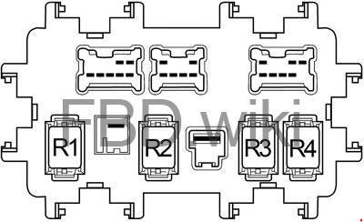 '06-'15 Infiniti G35, G37, G25, Q40 Fuse Box Diagram