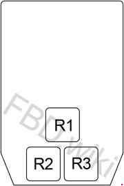 Infiniti Q45 (Y33; 1997-2001) Fuse Box Diagram