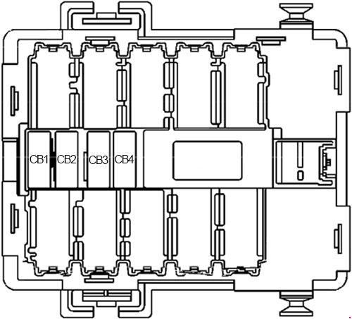 '07-'13 Chevy Silverado & GMC Sierra Fuse Box Diagram