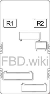 '13-'18 Subaru Forester SJ Fuse Box Diagram