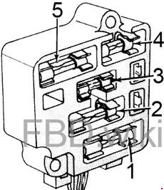 '73-'76 Ford Bronco Fuse Box Diagram