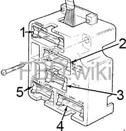 '73-'75 Ford F100, F150, F250, F350 Fuse Box Diagram