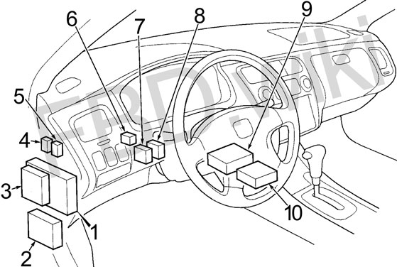 2001 honda accord fuel pump wiring diagram  cycle country