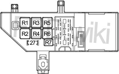 '02-'12 Saab 9-3 Fuse Diagram