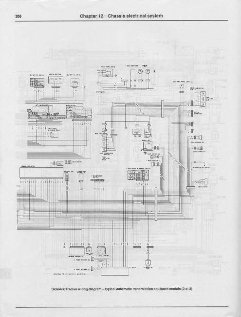 Схемы электрооборудования Suzuki Samurai / Sidekick / Geo