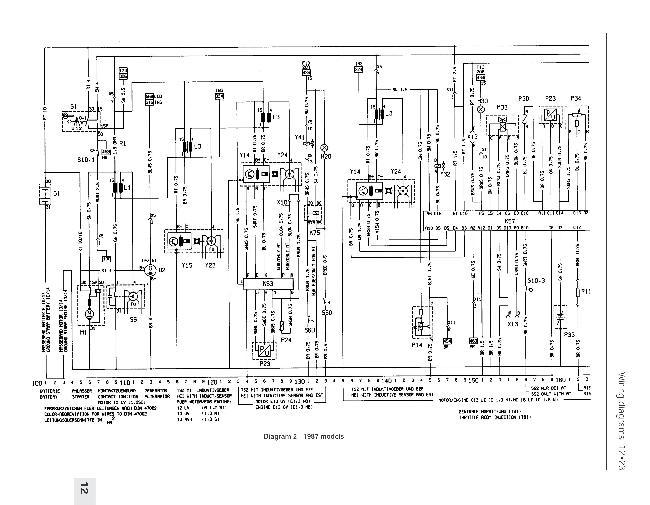 Схемы электрооборудования Opel Kadett E 1984-1991 » Схемы