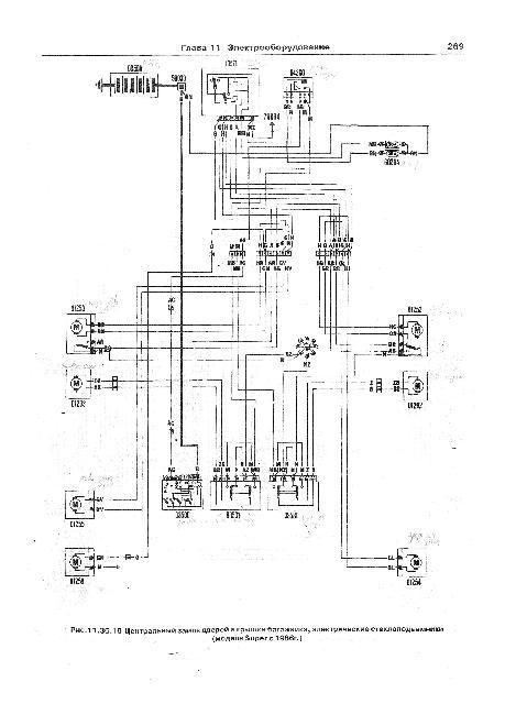 Схемы электрооборудования Fiat Ritmo / Strada / Regata с