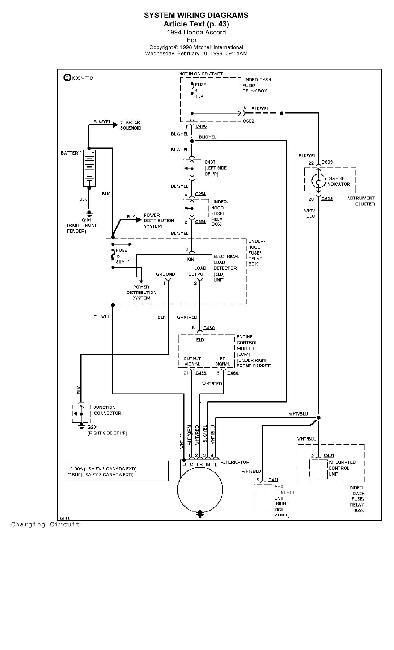 Схемы электрооборудования HONDA Accord 1994 » Схемы