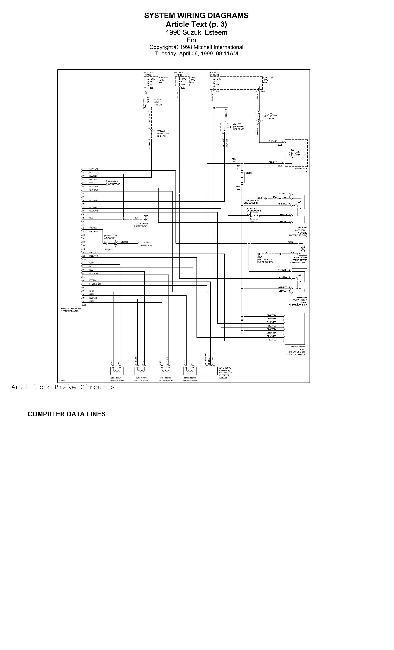 Схема электрооборудования автомобиля Suzuki Baleno