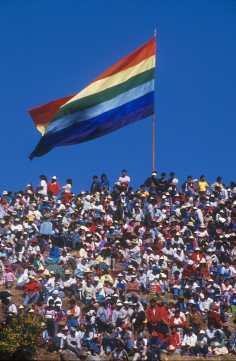 Fiesta Inti Raymi, bandera Inca
