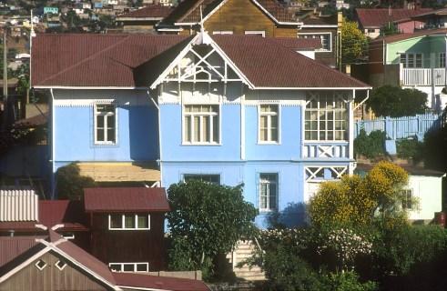 Chile, Valparaiso, cerro Santo Domingo