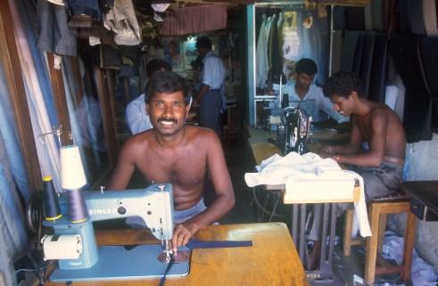 Sri Lanka, Horana, Sastrería, retrato