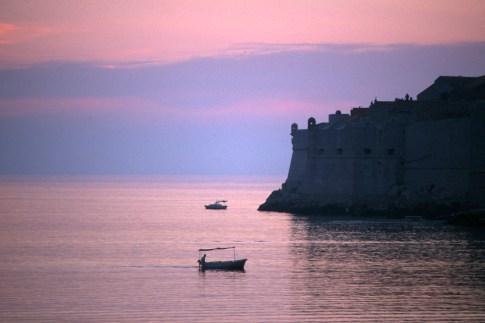 Croacia, Dubrovnik. nocturno