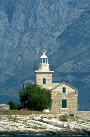 Croacia, isla de Hvar, faro