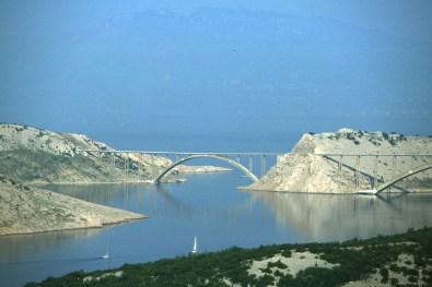 Croacia, isla Pag, mar Adriatico