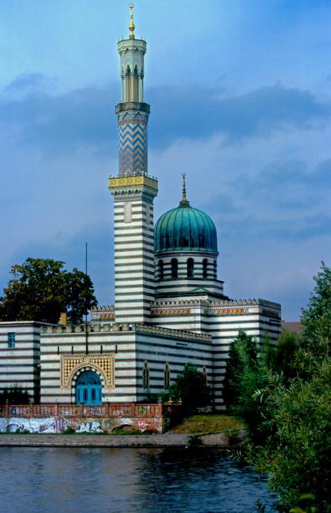 Alemania, Brandenburgo, Potsdam, arquitectura tipo Mezquita, Estación de Bomberos