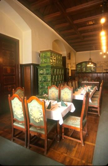 Alemania, Turingia, Erfurt, Restaurante Gildehaus