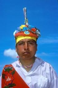 México, Teotihuacan, Hombres Voladores, retrato