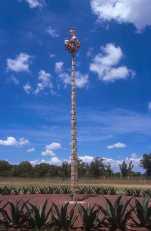 México, Teotihuacan, Hombres Voladores