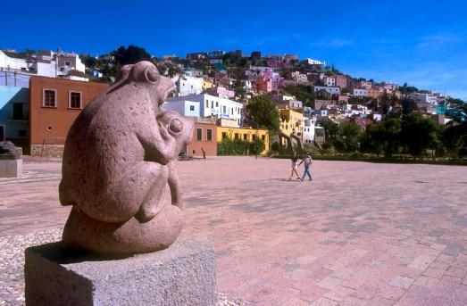 México, Est. Guanajuato, Guanajuato, escultura