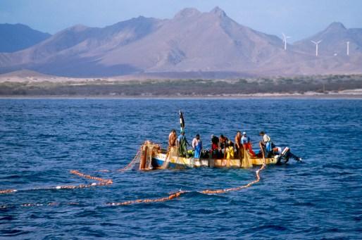 Cabo Verde, Isla Sao Vicente, pescadores, trabajo