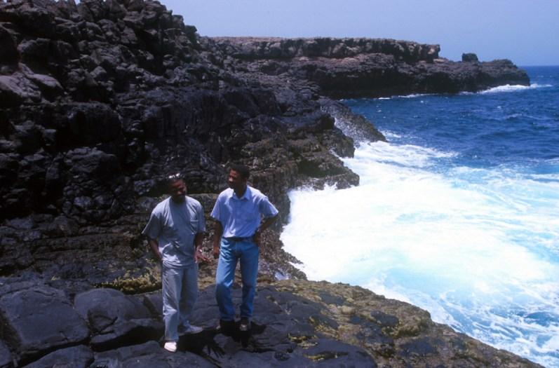 Cabo Verde, Isla de Sal, Buracona, islas volcánicas