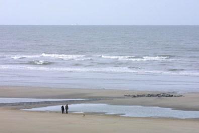 Flandes, Blankenberge, playas del Mar del Norte