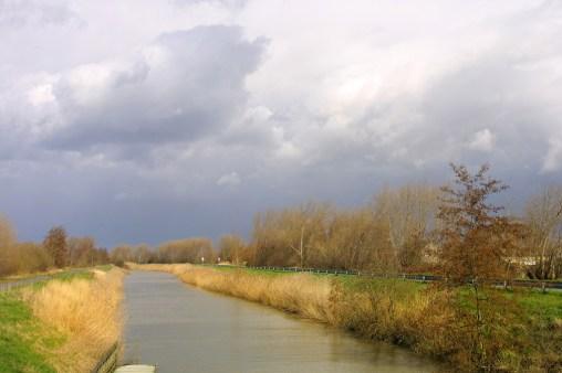 Flandes, Lo-Reninge, Molino Markey, canal