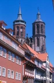 Alemania, Baja Sajonia, Göttingen, iglesia San Juan
