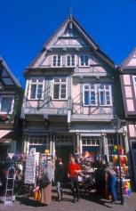 Alemania, Baja Sajonia, Celle, casas de madera