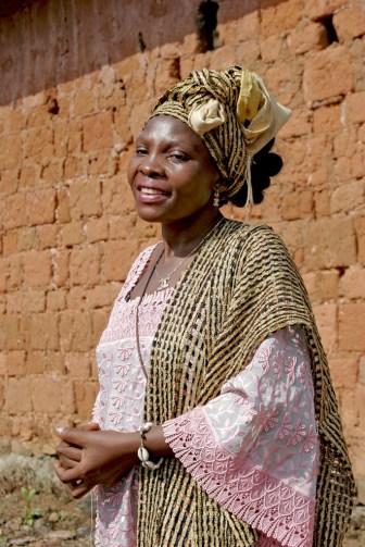 "Camerún, Bafut, Fondom, Chefferie, ""Ma"" Constance"