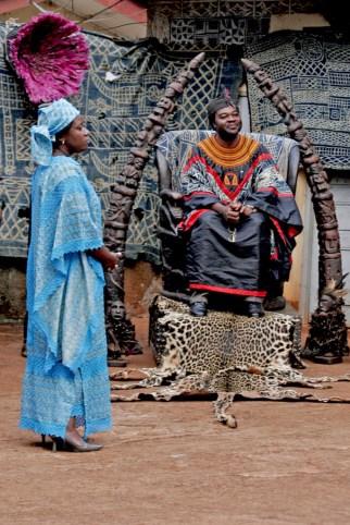 Camerún, Bafoussam, Chefferie, Njitack Ngompé, Rey de los Bafusam