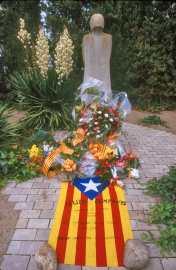 Catalunya, Urgell. El Tarrós, Monumento a Lluís Campanys