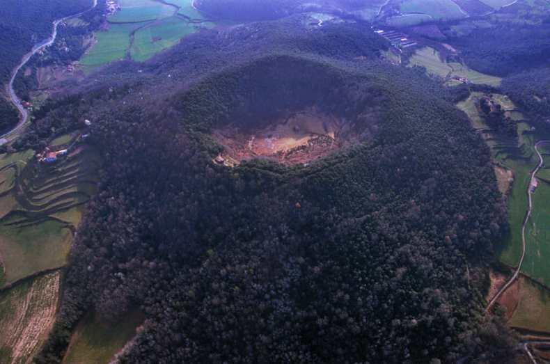 La Garrotxa Volcan Santa Margarida
