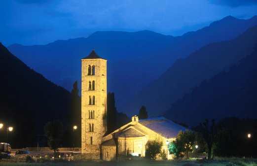 Catalunya, Alta Ribagorça, Taüll, Vall de Boì, Iglesia Románica Sant Climent