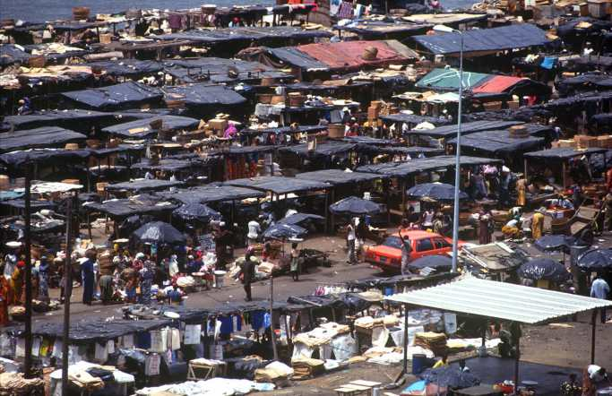 Costa de Marfil, Abidjan, Mercado